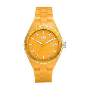 adidas-Originals-adidas-Originals-Reloj-analgico-de-cuarzo-unisex-con-correa-de-caucho-color-amarillo-0