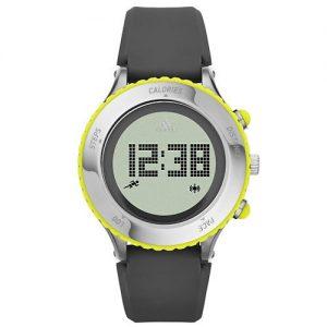 adidas-Sprung-Steel-Reloj-de-cuarzo-con-la-correa-de-plstico-para-mujer-color-gris-negro-0