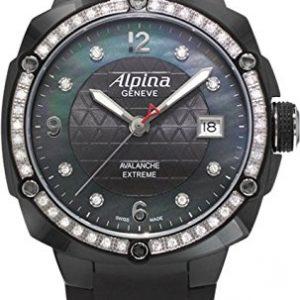 Alpina-Geneve-Avalance-Extreme-Ceramic-AL-240MPBD3FBAEDC6-Reloj-de-Pulsera-para-mujeres-con-diamantes-genuinos-0