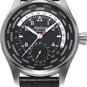 Alpina-Geneve-Worldtimer-Manufacture-AL-718B4S6-Reloj-Automtico-para-hombres-Calibre-de-Manufactura-0