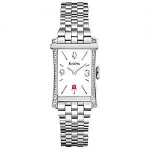 Bulova-96R187-Reloj-para-mujeres-correa-de-acero-inoxidable-color-plateado-0