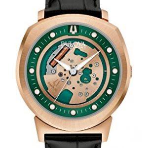 Bulova-Reloj-de-pulsera-para-hombre-de-acero-inoxidable-Accutron-II--Alpha-97-A122-0
