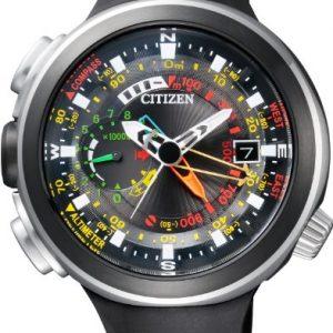 Citizen-BN4035-08E-Reloj-correa-de-caucho-color-negro-0