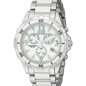 Citizen-FB1230-50A-Reloj-analgico-para-mujer-correa-de-cermica-color-blanco-0