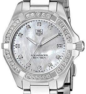 ada3a6f830bb Día de paga Aqua Racer Ladies diamonds MOP diamantes reloj de pulsera para  mujer correa de acero inoxidable caja de acero inoxidable esfera de nácar  con ...