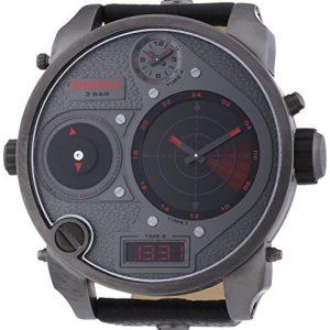 Diesel-0-Reloj-de-cuarzo-para-hombre-con-correa-de-cuero-color-negro-0-1