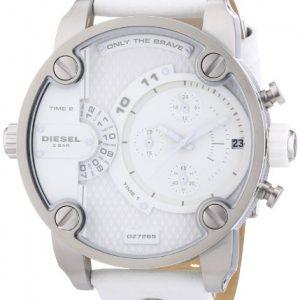Diesel-DZ7265-Reloj-crongrafo-de-cuarzo-para-hombre-con-correa-de-piel-color-blanco-0-0