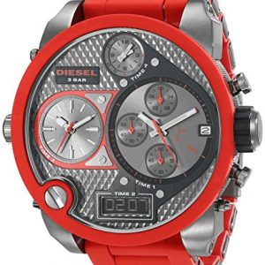 Diesel-DZ7279-Reloj-analgico-digital-de-cuarzo-para-hombre-correa-de-plstico-color-rojo-cronmetro-agujas-luminiscentes-0-0