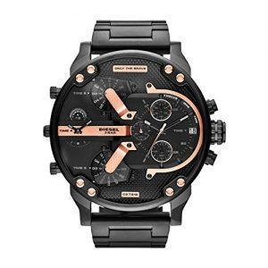 Diesel-DZ7312-Reloj-de-cuarzo-para-hombre-correa-de-acero-inoxidable-color-negro-0-0