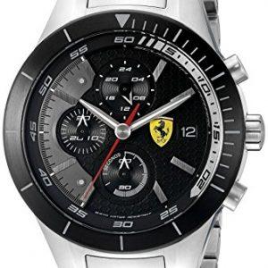 Ferrari-De-los-hombres-Analgico-Dress-Cuarzo-Reloj-0830263-0