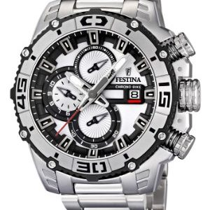 13d8f42aa039 Festina 16599 1 – Reloj cronógrafo de cuarzo para hombre con correa de  acero inoxidable