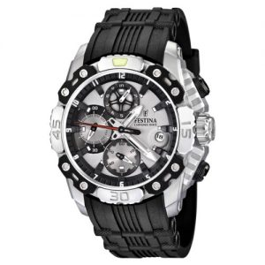 Festina-F165431-Reloj-crongrafo-de-cuarzo-para-hombre-con-correa-de-caucho-color-negro-0