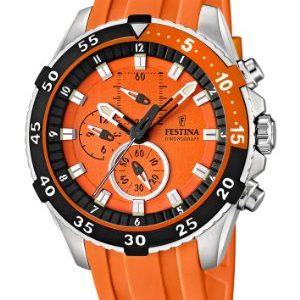Festina-F166043-Reloj-crongrafo-de-cuarzo-para-hombre-con-correa-de-plstico-color-naranja-0