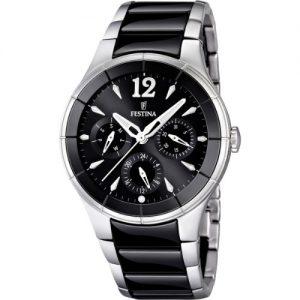 Festina-F166243-Reloj-analgico-de-cuarzo-para-hombre-con-correa-de-acero-inoxidable-color-negro-0