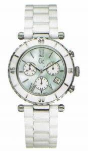 Gc-Guess-Collection-Diver-Chic-Chrono-Reloj-de-cuarzo-para-mujer-con-correa-de-cermica-color-blanco-0