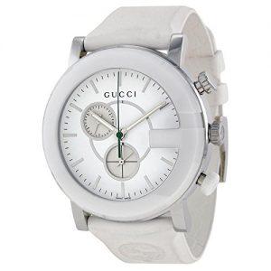 Gucci-G-CHRONO-YA101346-Reloj-para-mujeres-correa-de-goma-color-blanco-0