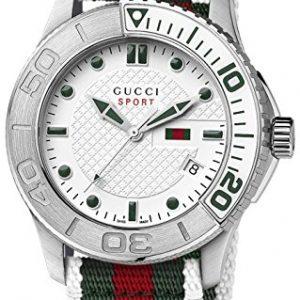 Gucci-Mens-45mm-White-Nylon-Stainless-Steel-Case-Quartz-Watch-YA126231-0