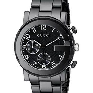 Gucci-YA101352-G-Chrono-Ceramic-Quartz-Reloj-Unisex-0