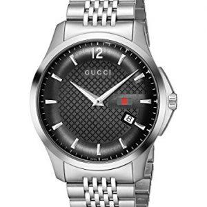 Gucci-YA126309-Reloj-de-pulsera-hombre-acero-inoxidable-color-plateado-0