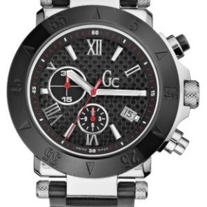 Guess-Collection-GC-SE-1-46500G1-Reloj-analgico-de-mujer-de-cuarzo-con-correa-de-acero-inoxidable-negra-0