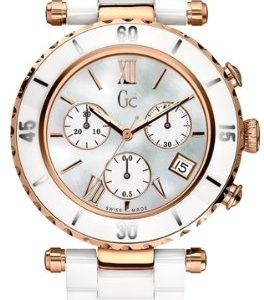 Guess-G47504M1S-Reloj-para-mujeres-correa-de-cermica-color-blanco-0