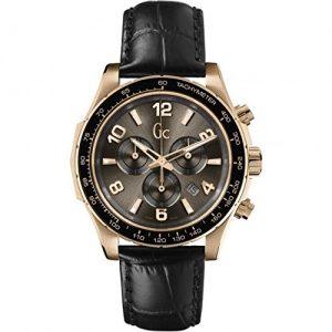 Guess-X51001G1S-Reloj-para-hombres-correa-de-cuero-color-negro-0
