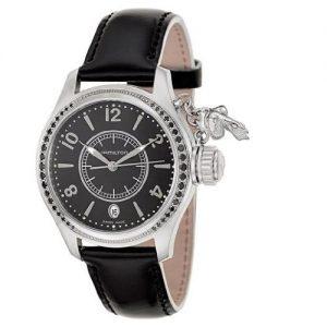 HAMILTON-H77351935-Reloj-analgico-de-cuarzo-para-mujer-correa-de-cuero-color-negro-0-1