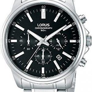 Lorus-RT321BX9-Reloj-crongrafo-de-cuarzo-para-hombre-correa-de-acero-inoxidable-color-metalizado-0