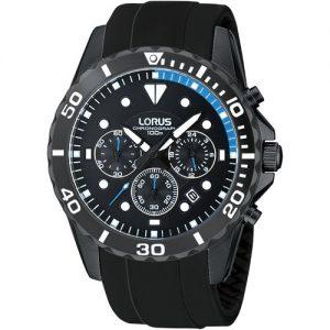 Lorus-RT339BX9-Reloj-crongrafo-de-cuarzo-para-hombre-correa-de-caucho-color-negro-0
