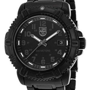 Luminox-7252BO-7252BO-Reloj-para-hombres-correa-de-acero-inoxidable-chapado-color-negro-0