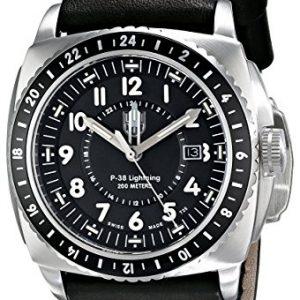 Luminox-P-38-Lightning-9421-Reloj-de-Pulsera-para-hombres-Aguja-de-tritio-0