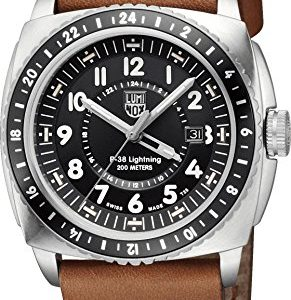Luminox-P-38-Lightning-XA9427-Reloj-de-Pulsera-para-hombres-Aguja-de-tritio-0