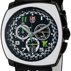 Luminox-Reloj-de-hombre-cuarzo-suizo-crongrafo-correa-de-cuero-genuino-1143-0