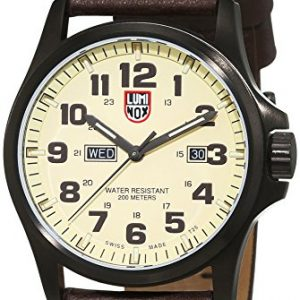 Luminox-XL-Reloj-de-pulsera-analgico-cuarzo-piel-1927-0