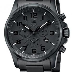 Luminox-XL1942BOB-Reloj-de-pulsera-para-hombre-analgico-cuarzo-y-acero-inoxidable-color-negro-0