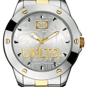 Marc-Ecko-E12531G1-Reloj-analgico-de-cuarzo-para-hombre-con-correa-de-acero-inoxidable-color-plateado-0