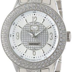 Marc-Ecko-E16533G1-Reloj-analgico-de-cuarzo-para-hombre-con-correa-de-acero-inoxidable-color-plateado-0