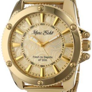 Marc-Ecko-E18597G1-Reloj-de-hombre-de-cuarzo-dorado-con-correa-de-acero-Luz-cristal-mineral-0