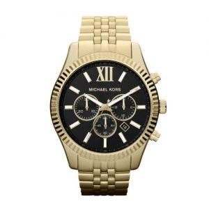 Michael-Kors-MK8286-Reloj-de-pulsera-hombre-acero-inoxidable-color-dorado-0