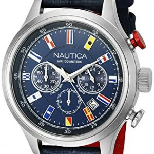 Nautica-Hombre-nad16520g-NCT-pantalla-de-16-Banderas-Analog-Cuarzo-Azul-Reloj-0
