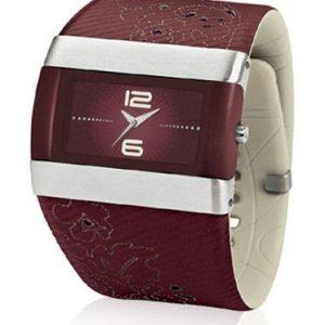 Nike-WC0024618-Reloj-con-correa-de-cuero-para-mujer-color-morado-gris-0