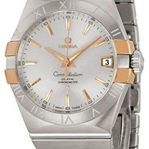 Omega-Constelacin-Coaxial-Automtico-Acero-y-Rose-Oro-Mens-Reloj-12320382102004-0