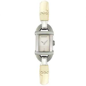 Reloj-Gucci-6800-YA068519-Mujer-Acero-y-bamb-Negro-0