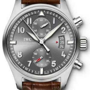 Reloj-de-los-hombres-del-crongrafo-Iwc-Spitfire-Iw387802-0