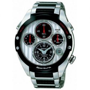 Seiko-SLQ023J1-Reloj-para-hombres-correa-de-acero-inoxidable-0