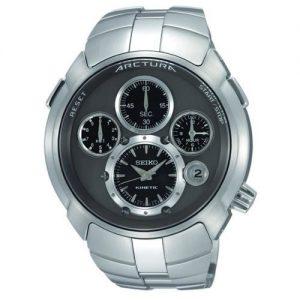 Seiko-SLQ025J1-Reloj-con-correa-de-acero-para-hombre-color-gris-0