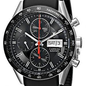 TAG-Heuer-CV201AH-Del-hombre-pulsera-acero-inoxidable-reloj-FT6014-para-hombre-0