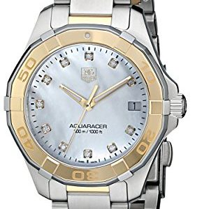 Tag-Heuer-Aquaracer-WAY1351-BD0917-32-mm-diamantes-Multicolor-Pulsera-de-acero-Case-sinttico-Zafiro-Reloj-de-mujer-0