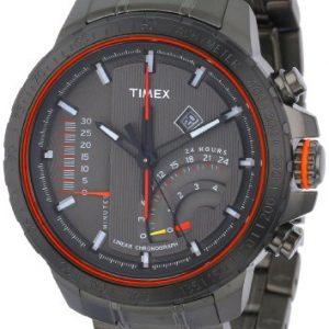 Timex-Caballero-T2P273DH-Intelligent-Quartz-Adventure-Series-Linear-Indicator-cron-grafo-Gray-Stainless-Steel-Bracelet-Reloj-0