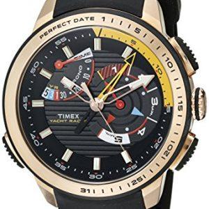 Timex-Hombre-tw2p44400dh-inteligente-cuarzo-Yacht-Racer-analgico-pantalla-Cuarzo-Analgico-Reloj-Negro-0